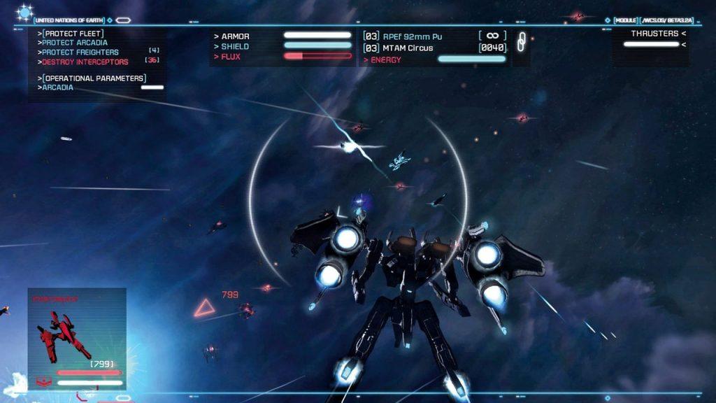 Strike Suit Zero - zródło PC Gamer
