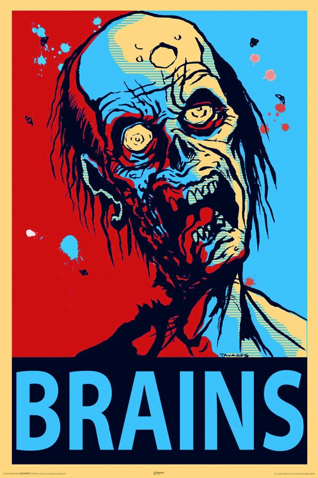Zombie potrzebują mózgi