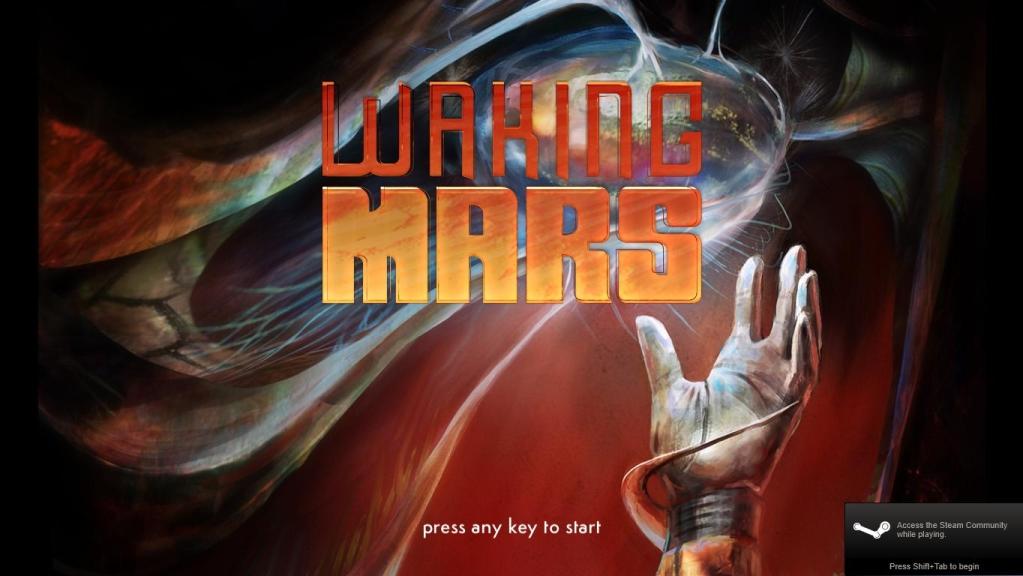 Platformówka - Waking Mars