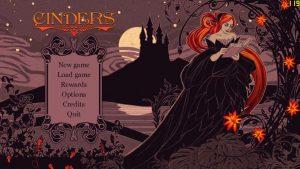 Games Rage - menu główne Cinders
