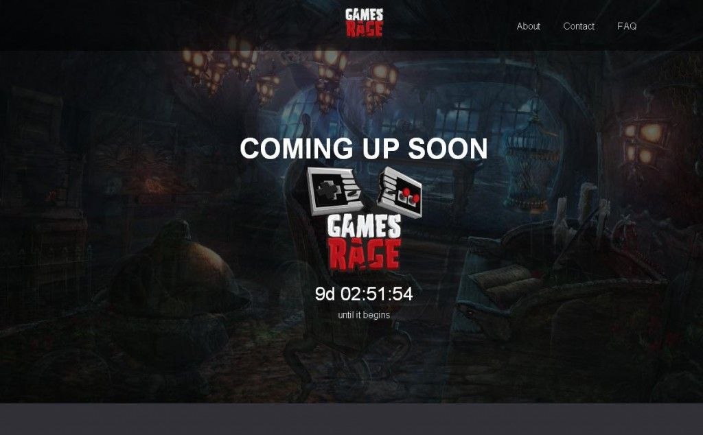 Games Rage - main page