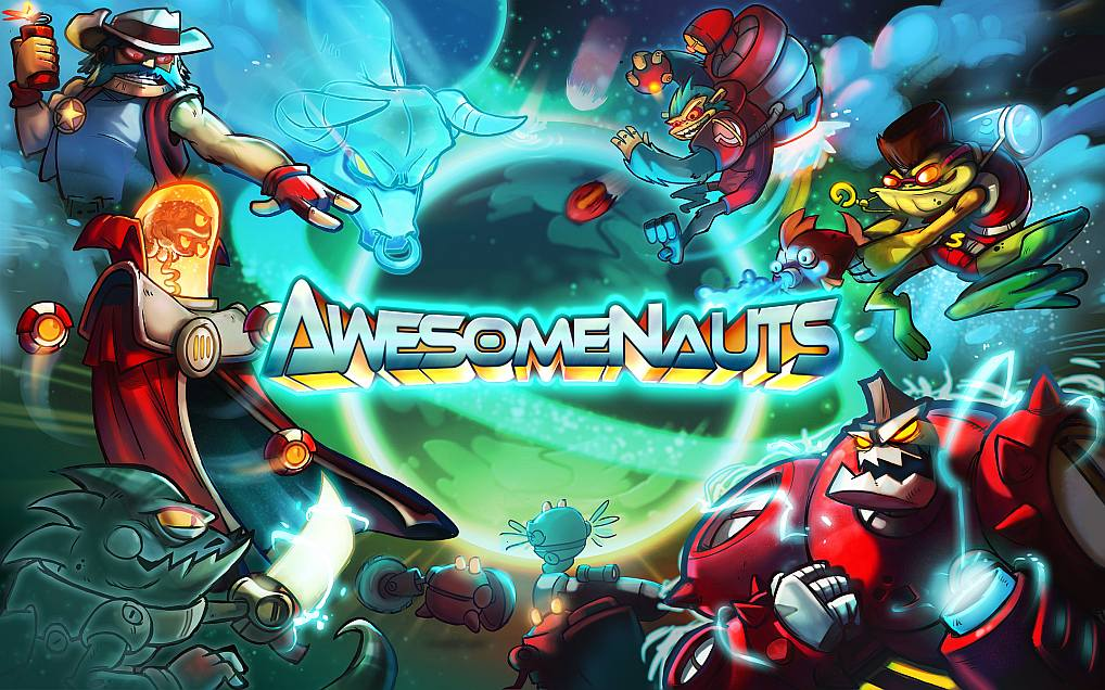 Awesomenauts - artwork