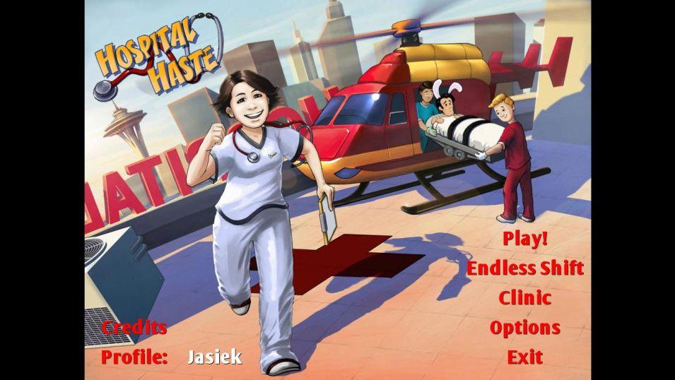 Games Rage - Hospital Haste