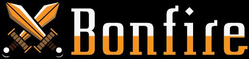 Bonfire - logo gry od MoaCube
