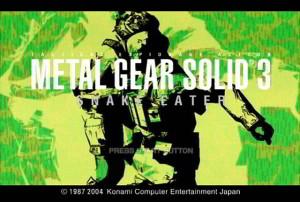 Muzyka z gier - Metal Gear Solid 3