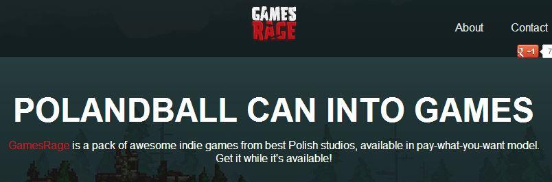 Games Rage - Polandball