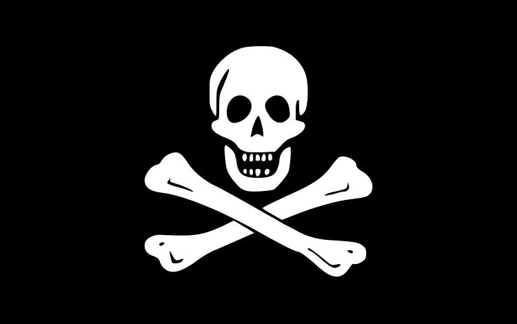 Piractwo - Jolly Roger jako pierwowzór