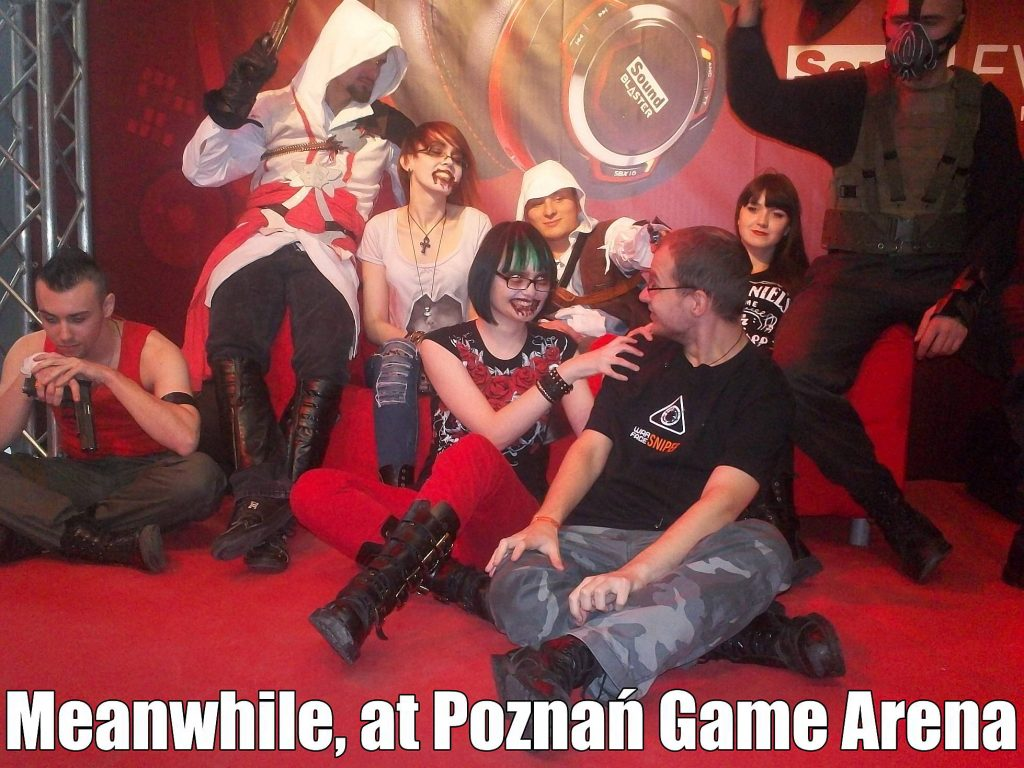 Poznań Game Arena, Zombie, Assasin's Creed
