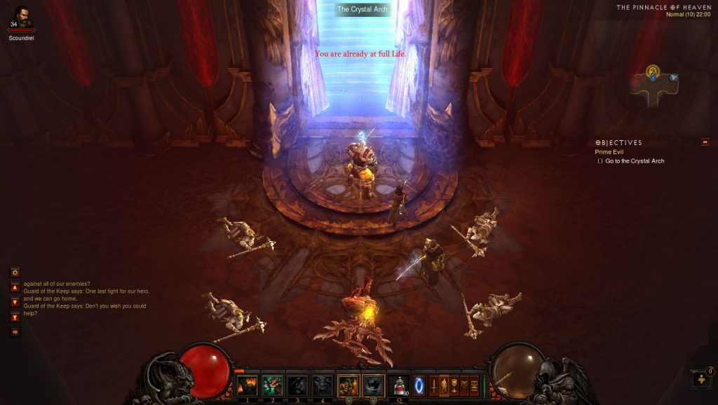 Diablo 3 - Act 5 - The Crystal Arch