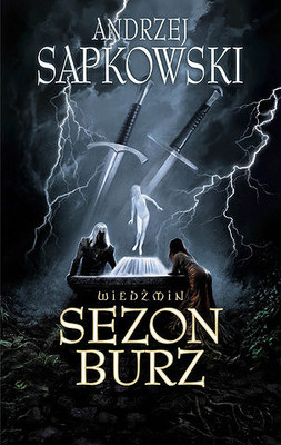 Sezon Burz, Andrzej Sapkowski, Wiedźmin
