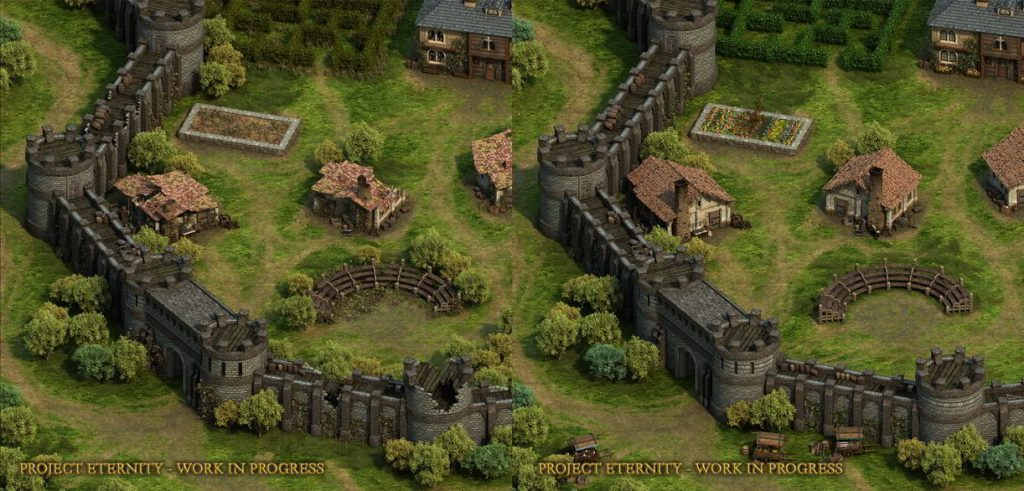 Pillars of Eternity, Twierdza, Gameplay