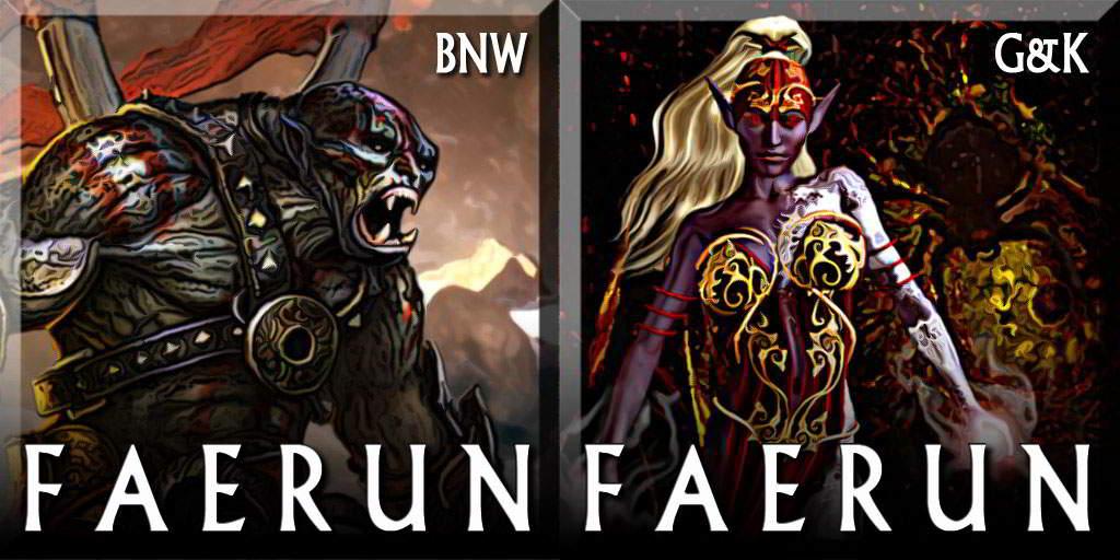 Faerun for Civilization 5