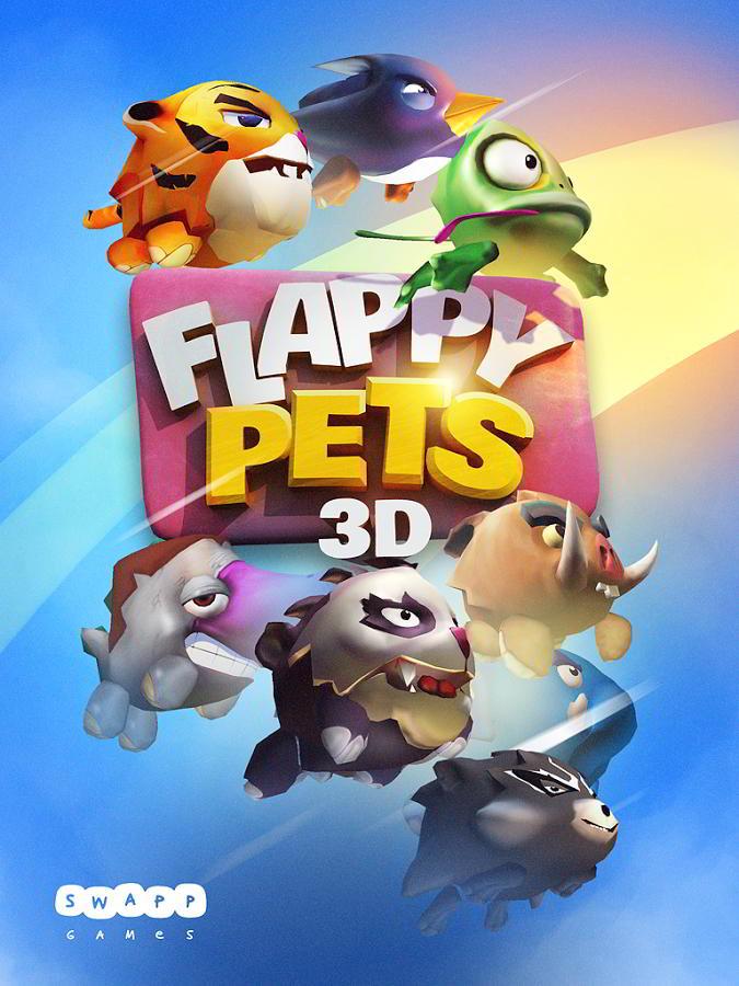 Flappy Pets 3D - Flappy Bird