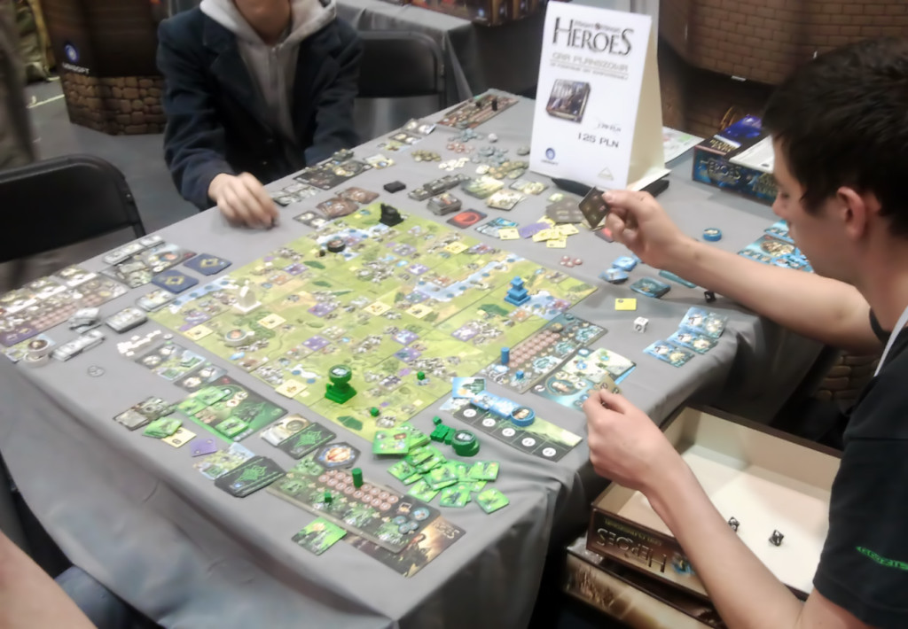 Pyrkon 2014 - Heroes of Might and Magic Planszowy