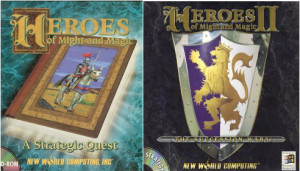 Heroes of Might and Magic 1 i 2