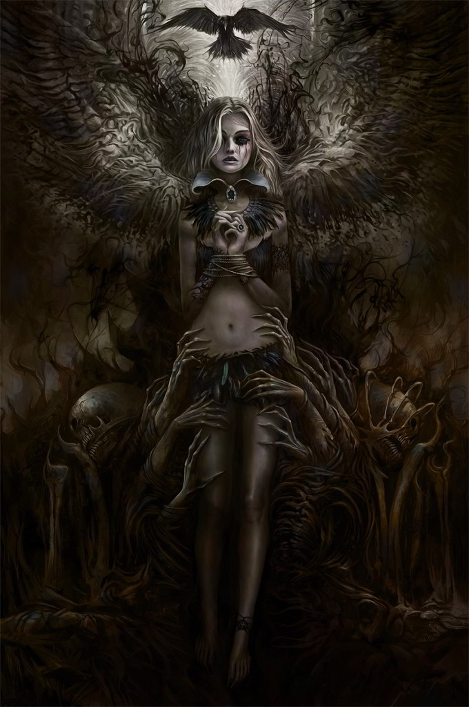 Tormentum Concept Art Lady