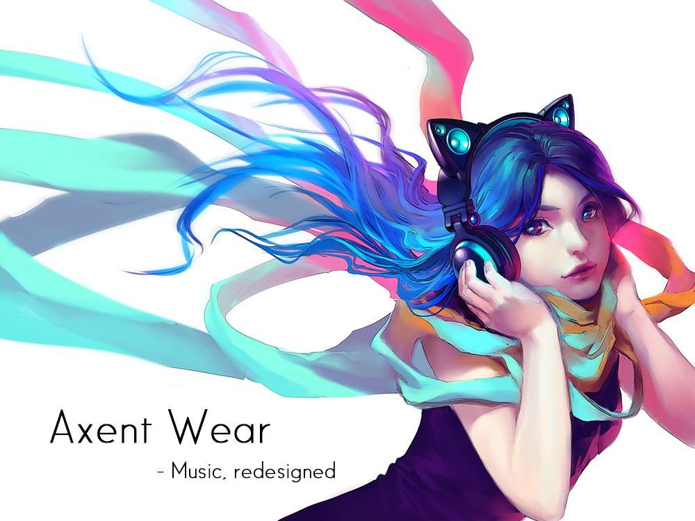 Axent Wear - słuchawki z głośnikami