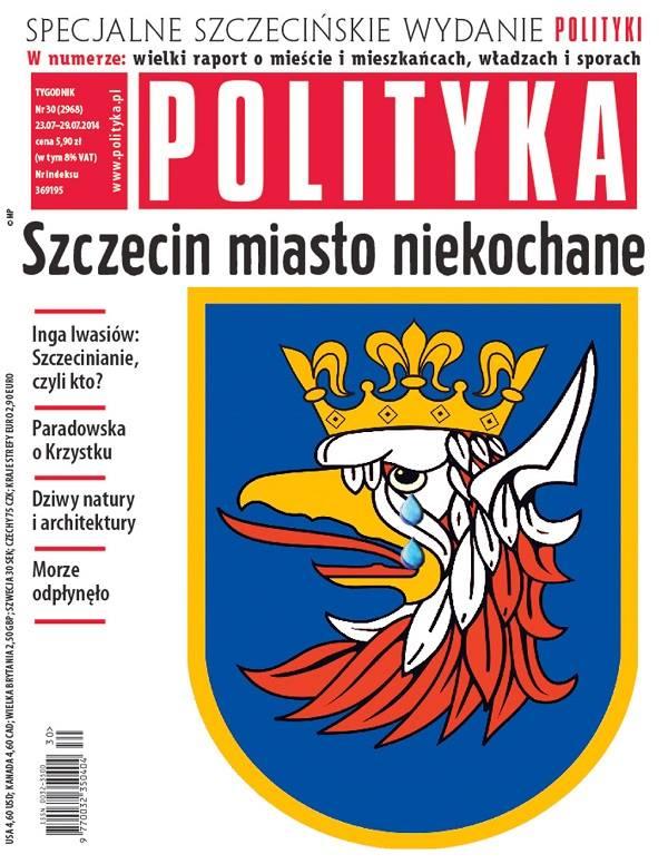 Polityka Szczecin Okładka