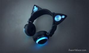 Prototyp słuchawek Axent Wear
