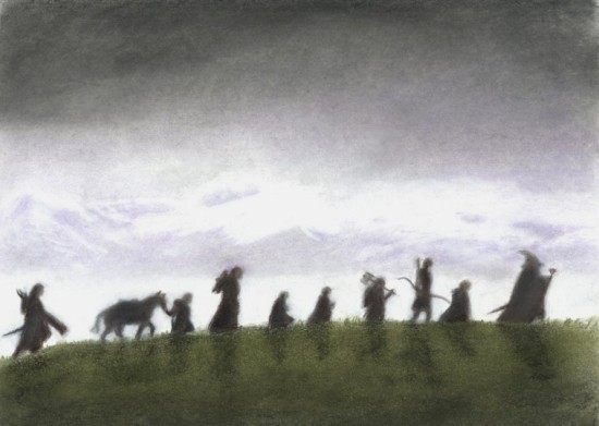 The Fellowship of The Ring - autorstwa AinuLaire