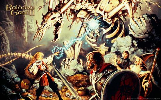 Drużyna - Baldur's Gate 2