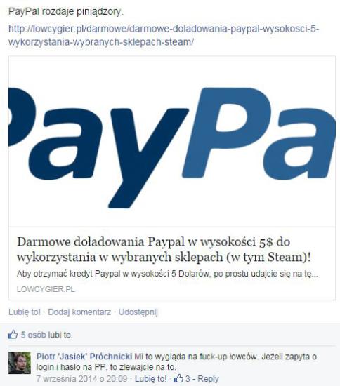 PayPal Spectycyzm