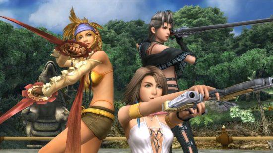 Yuna Rikku Paine Final Fantasy X