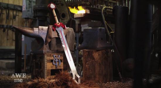 Man at Arms Iron Man Sword