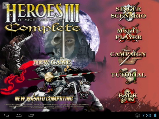 HoMM 3 VCMI Android
