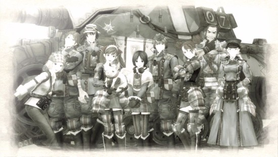 Valkyria Chronicles PC Squad 7