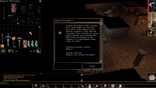 Neverwinter Nights epicki łup