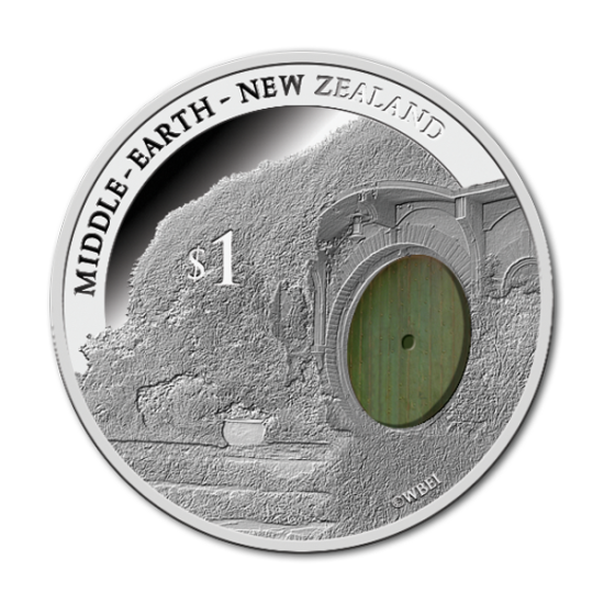 Bag End Silver Coin Hobbit Pamiątka