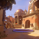 Temple of Anubis Map Overwatch