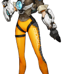 Tracer Concept Art Blizzard Overwatch