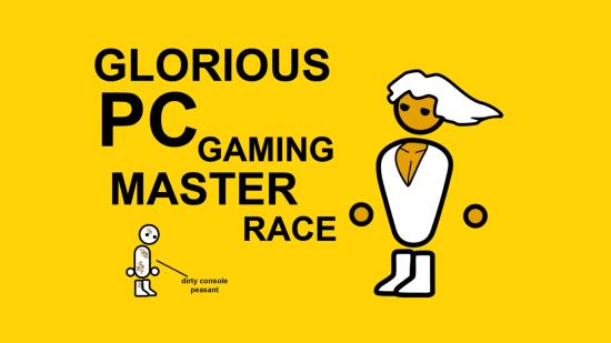 Granie na konsoli, PC Gaming Master Race