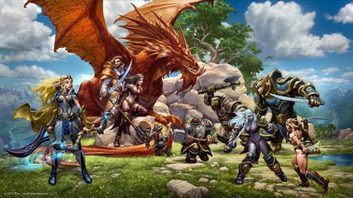 Everquest Next, jedna z gier produkowanych przez Daybreak Games Company vel Sony Online Entertainment