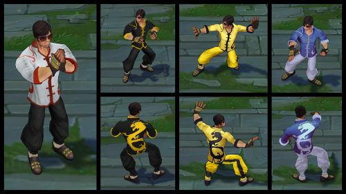 Dragon Fist Lee Sin Chroma
