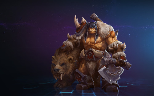 Rexxar Heroes of The Storm Gamescom 2015