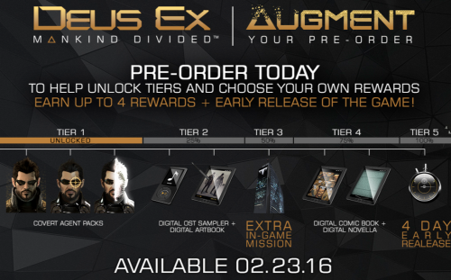 Augument your preorder