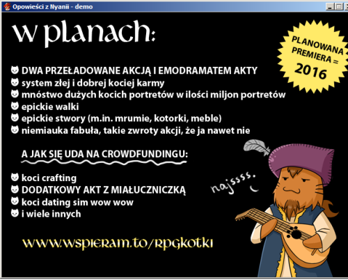 Opowieści z Nyanii KOCIE PLANY