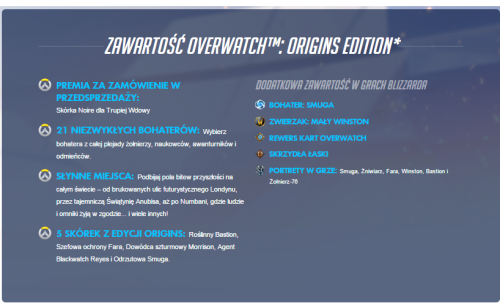Overwatch Origins