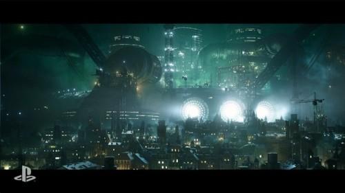 Final-Fantasy VII Remake Midgar
