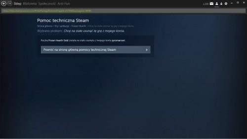 Steam Usuwanie gry 3 Sukces Allegro Cebula Zwalczanie oszustów