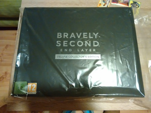 Bravely Second Deluxe Collectors Edition 1 unboxing