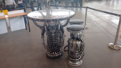 Pyrkon 2016 Alien Table