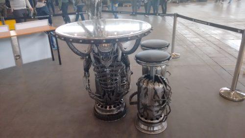 Pyrkon 2016 Alien Table
