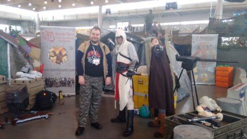Pyrkon 2016 Mandalorianin Assassin's Creed