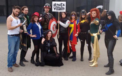 Pyrkon 2016 cosplay komiksy