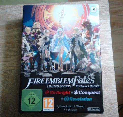 Fire Emblem Fates Limited Edition 1