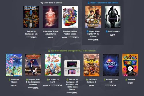Humble Friends of Nintendo Bundle content